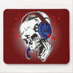 Cráneo de DJ Tapete De Raton