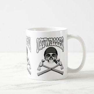 Cráneo de Drywaller Taza De Café