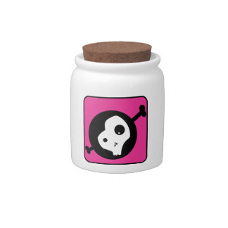 Cráneo de Emo Platos Para Caramelos
