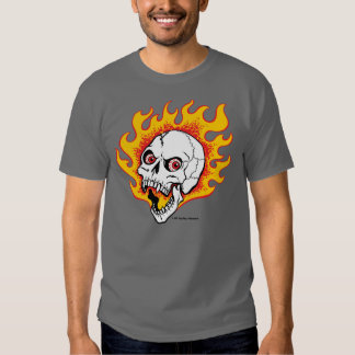 Cráneo de Flamey Playera