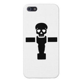 Cráneo de Foosball iPhone 5 Protectores