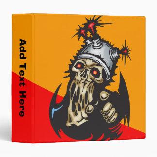 """Cráneo de fusión del Cyborg Carpeta 1 1/2"""""""