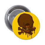 cráneo de fusión delicioso del chocolate… por Kanj Pin