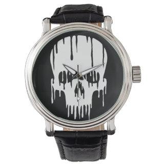 Cráneo de fusión reloj de mano