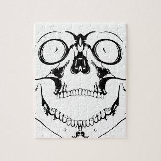 cráneo de griterío rompecabezas