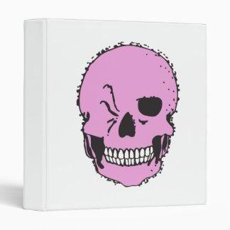 cráneo de guiño rosado