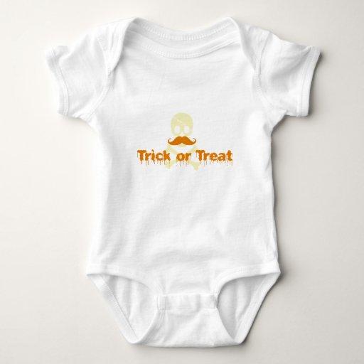 cráneo de Halloween Body Para Bebé