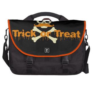 cráneo de Halloween Bolsas Para Portátil