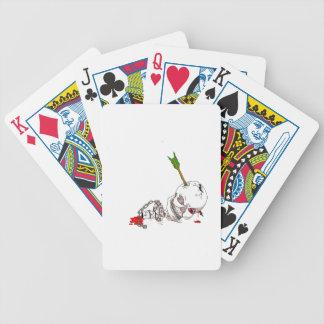 Cráneo de Halloween Baraja Cartas De Poker