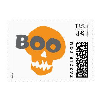 Cráneo de Halloween del abucheo Sellos