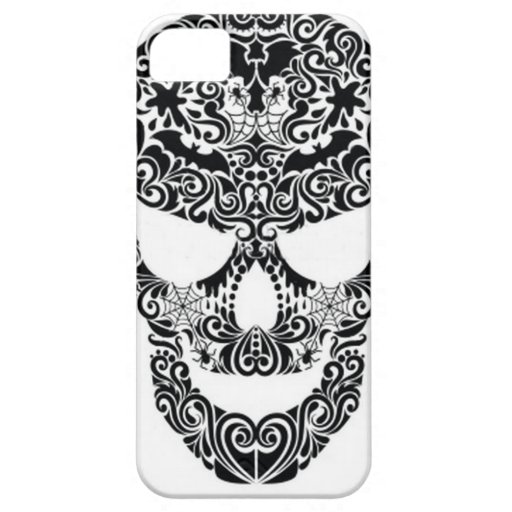 Cráneo de Halloween iPhone 5 Case-Mate Fundas
