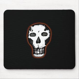Cráneo de Halloween Alfombrillas De Ratones