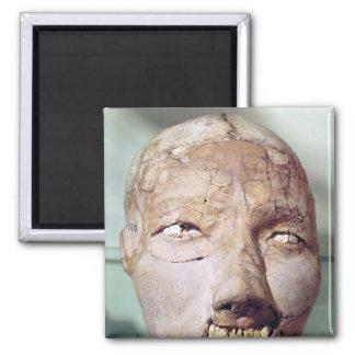 Cráneo, de Jericó, 7000-6000 A.C. Imán Cuadrado