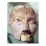 Cráneo, de Jericó, 7000-6000 A.C. Postal