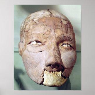 Cráneo, de Jericó, 7000-6000 A.C. Póster