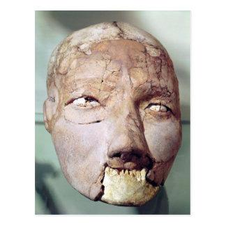Cráneo, de Jericó, 7000-6000 A.C. Tarjetas Postales