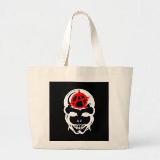 Cráneo de la anarquía bolsas de mano