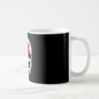 Cráneo de la anarquía tazas de café