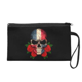 Cráneo de la bandera de la República Dominicana co
