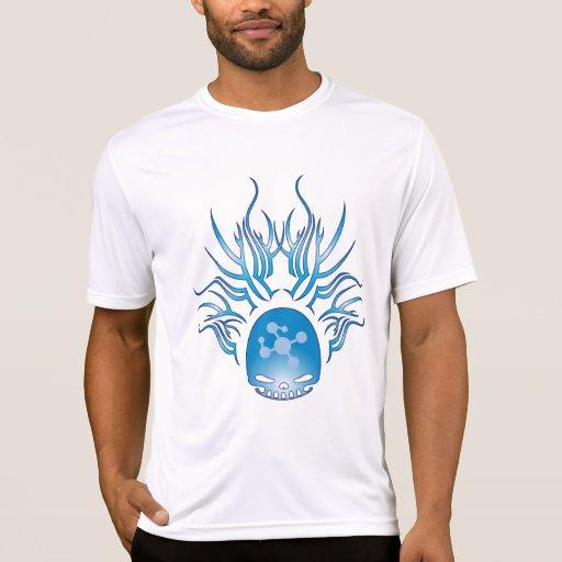 Cráneo de la biología molecular camisetas