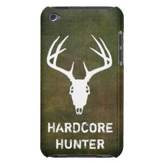 Cráneo de la caza de los ciervos con las astas iPod touch Case-Mate funda