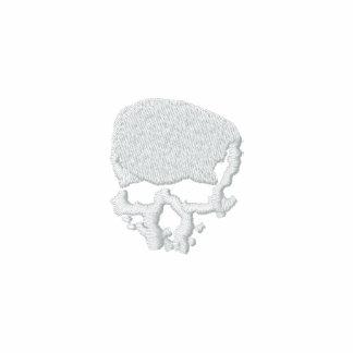 Cráneo de la firma del día de Wither de la mente Sudadera Bordada