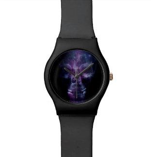 Cráneo de la galaxia reloj de mano