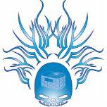 Cráneo de la HVAC Escultura Fotográfica
