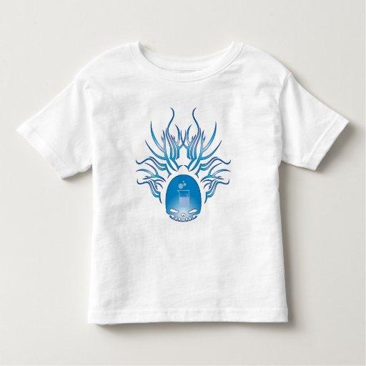 Cráneo de la microbiología t shirts