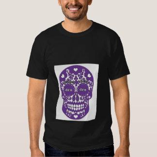 Cráneo de la púrpura de la DRS Remeras