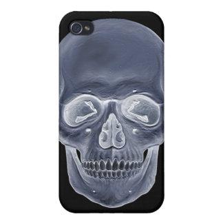 Cráneo de la radiografía iPhone 4 funda