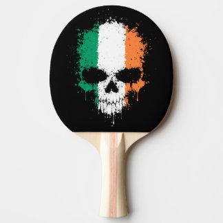 Cráneo de la salpicadura del goteo de Irlanda Pala De Tenis De Mesa