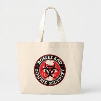 Cráneo de la seguridad del zombi de la patria - ro bolsas