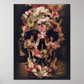 Cráneo de la selva poster