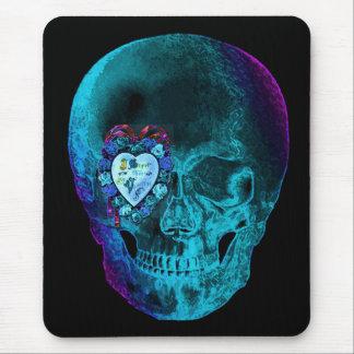 Cráneo de la tarjeta del día de San Valentín de la Alfombrilla De Ratón