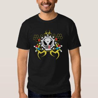 Cráneo de la tecnología del Biohazard Camisas