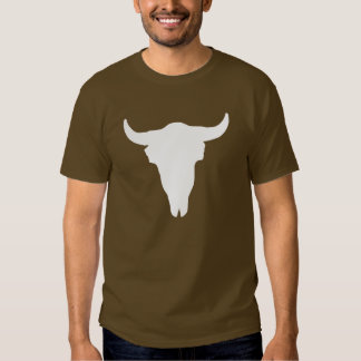 Cráneo de la vaca playera