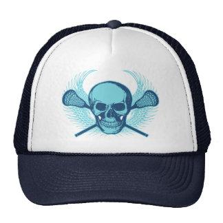Cráneo de LaCrosse - azul Gorro De Camionero