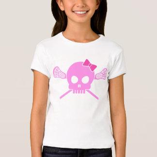 Cráneo de LaCrosse del chica Camisas