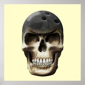 Cráneo de los bolos posters