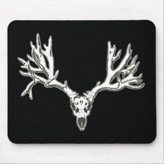 Cráneo de los ciervos del dólar del monstruo alfombrillas de ratones