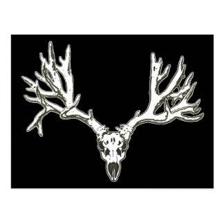 Cráneo de los ciervos del dólar del monstruo postal