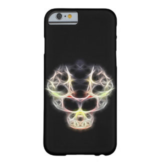 Cráneo de lujo del fractalius funda barely there iPhone 6