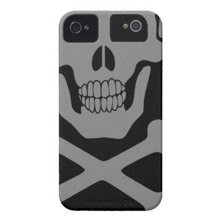 Cráneo de mirada Case-Mate iPhone 4 protectores