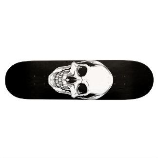 """Cráneo de mueca malvado en el monopatín negro patineta 7 3/4"""""""