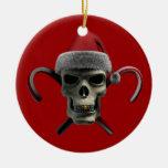 Cráneo de Navidad Adorno Para Reyes