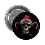 Cráneo de Navidad Pins