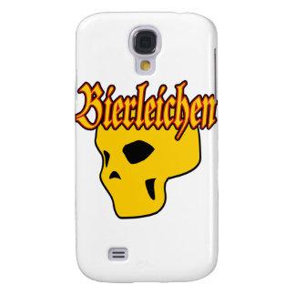 Cráneo de Oktoberfest Bierleichen Funda Para Galaxy S4
