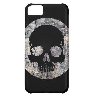 Cráneo de piedra funda para iPhone 5C