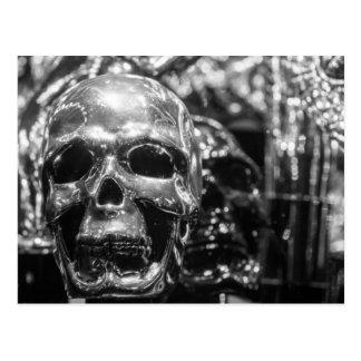 Cráneo de plata postales